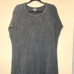 LuLaRoe Black Tie Dye Maria 2XL